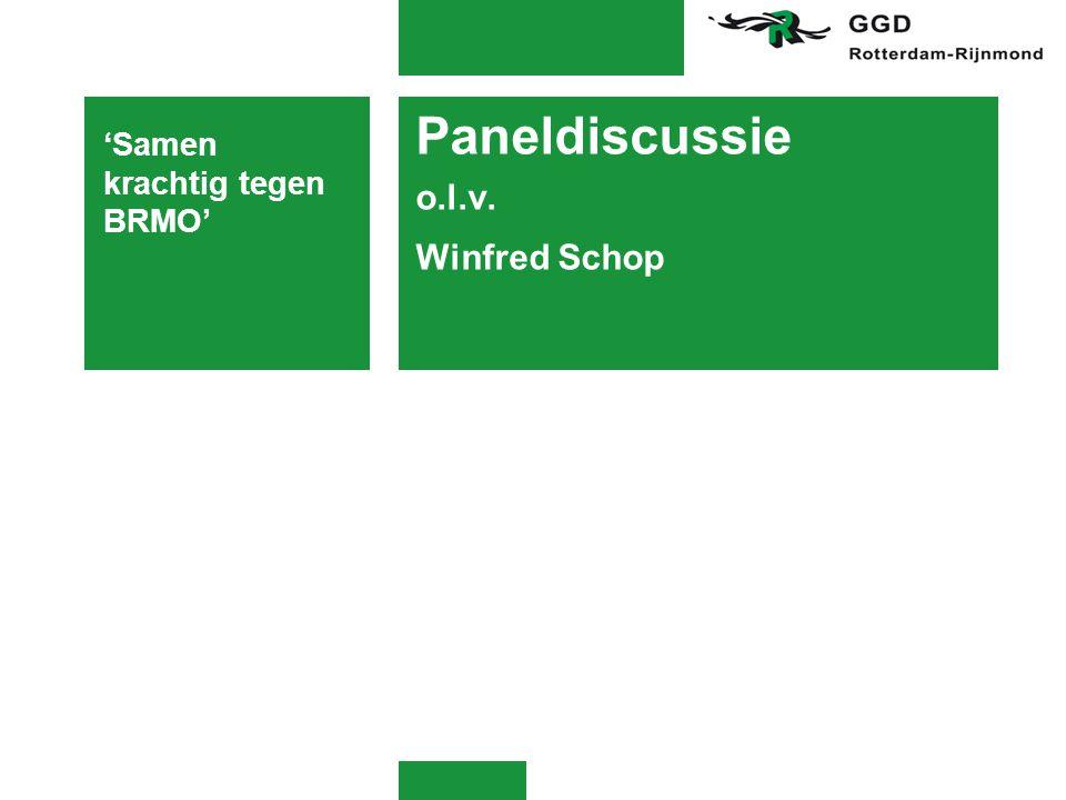 Paneldiscussie o.l.v. Winfred Schop