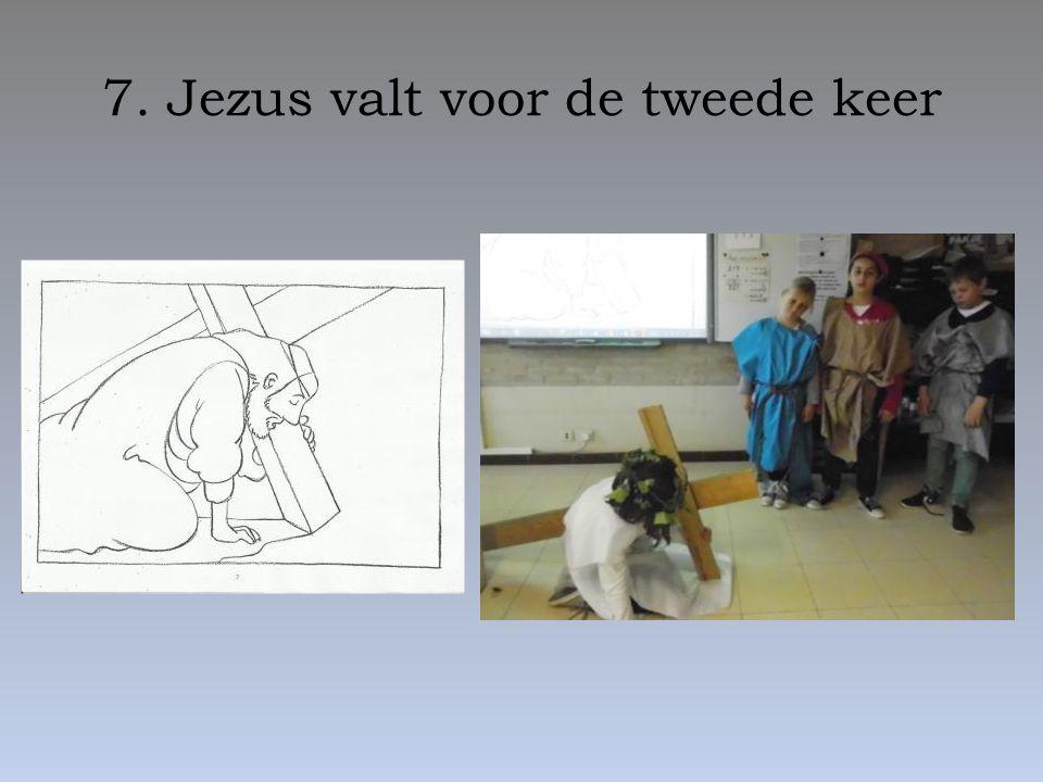 7. Jezus valt voor de tweede keer