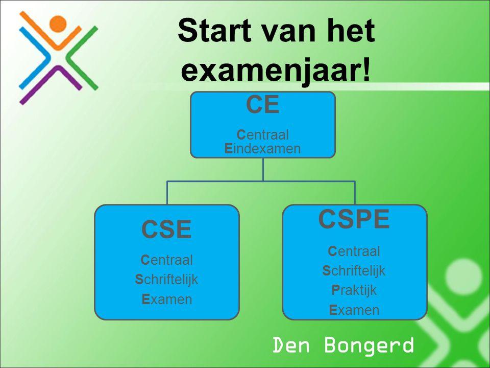Start van het examenjaar!