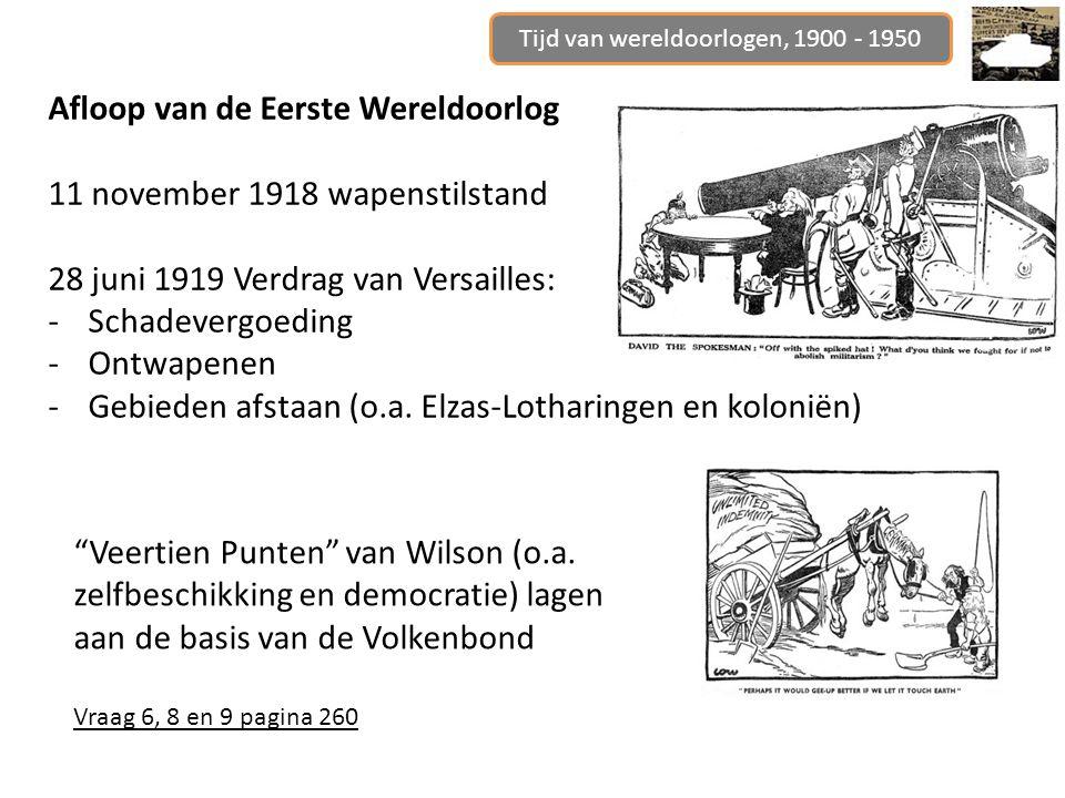 Tijd van wereldoorlogen, 1900 - 1950