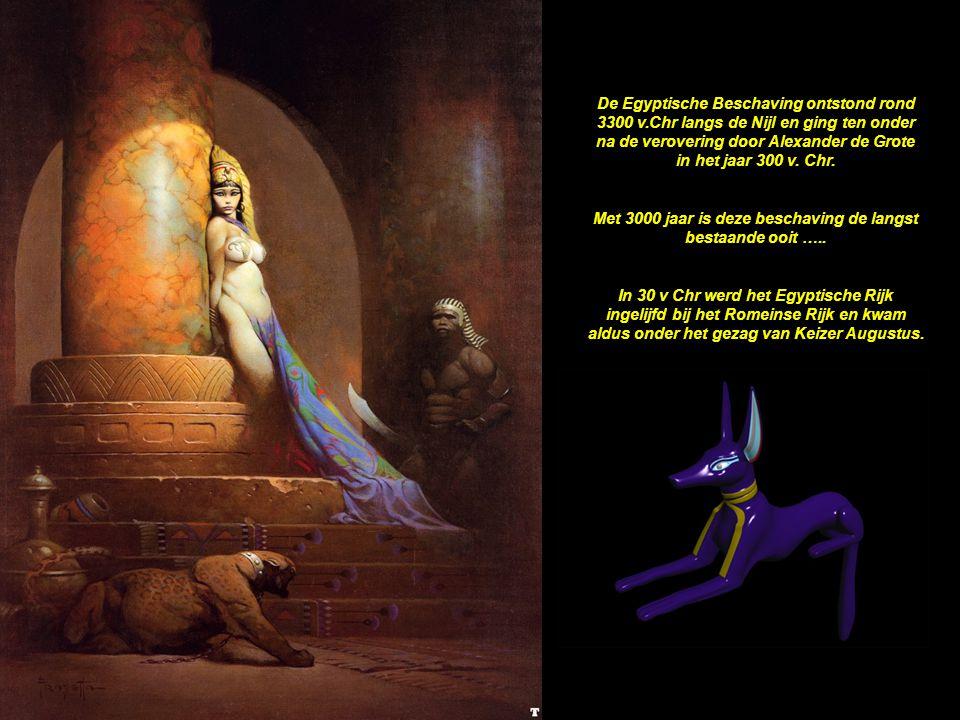 Met 3000 jaar is deze beschaving de langst bestaande ooit …..