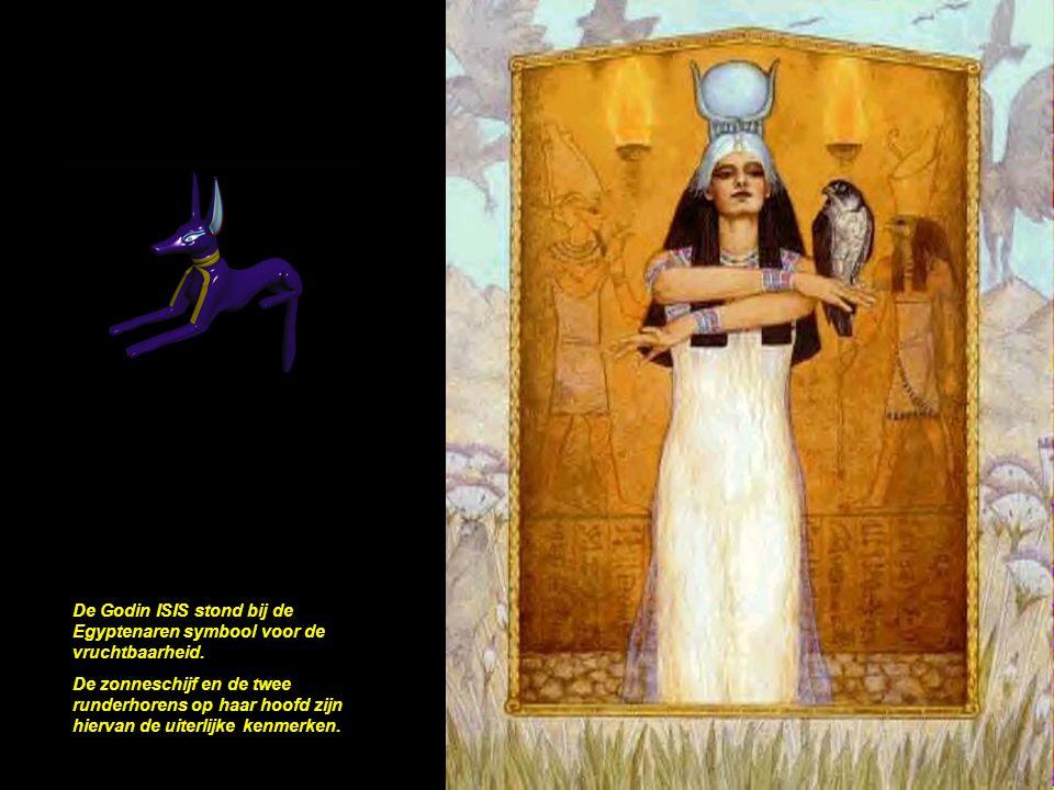 De Godin ISIS stond bij de Egyptenaren symbool voor de vruchtbaarheid.