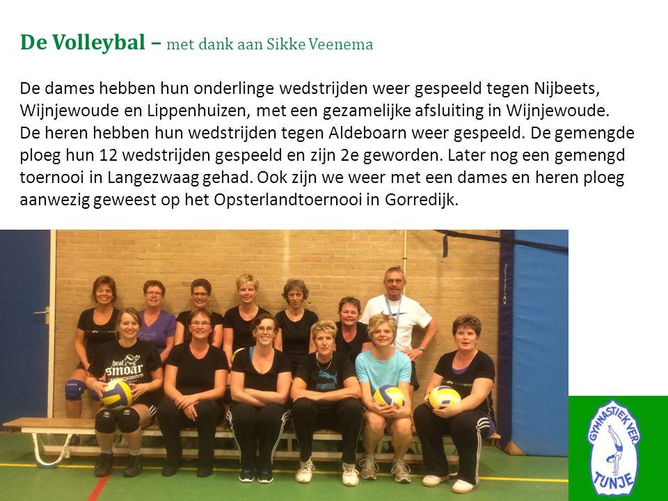 De Volleybal – met dank aan Sikke Veenema