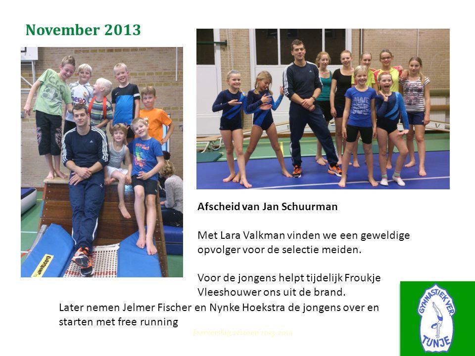 November 2013 Afscheid van Jan Schuurman