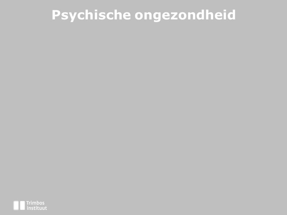 Psychische ongezondheid