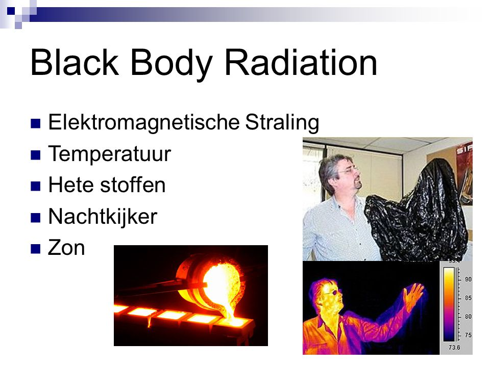 Black Body Radiation Elektromagnetische Straling Temperatuur