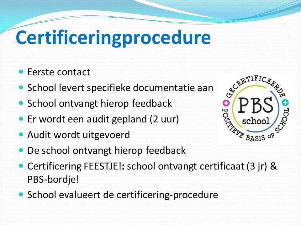 Certificeringprocedure