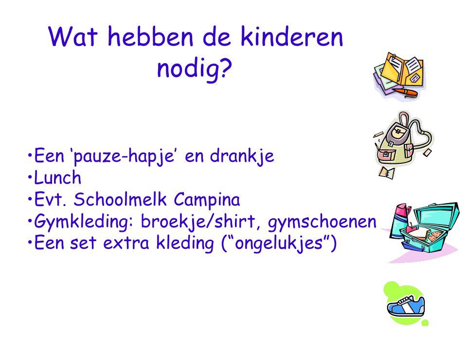 Wat hebben de kinderen nodig
