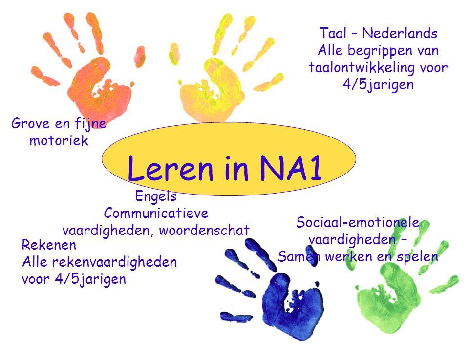 Leren in NA1 Taal – Nederlands