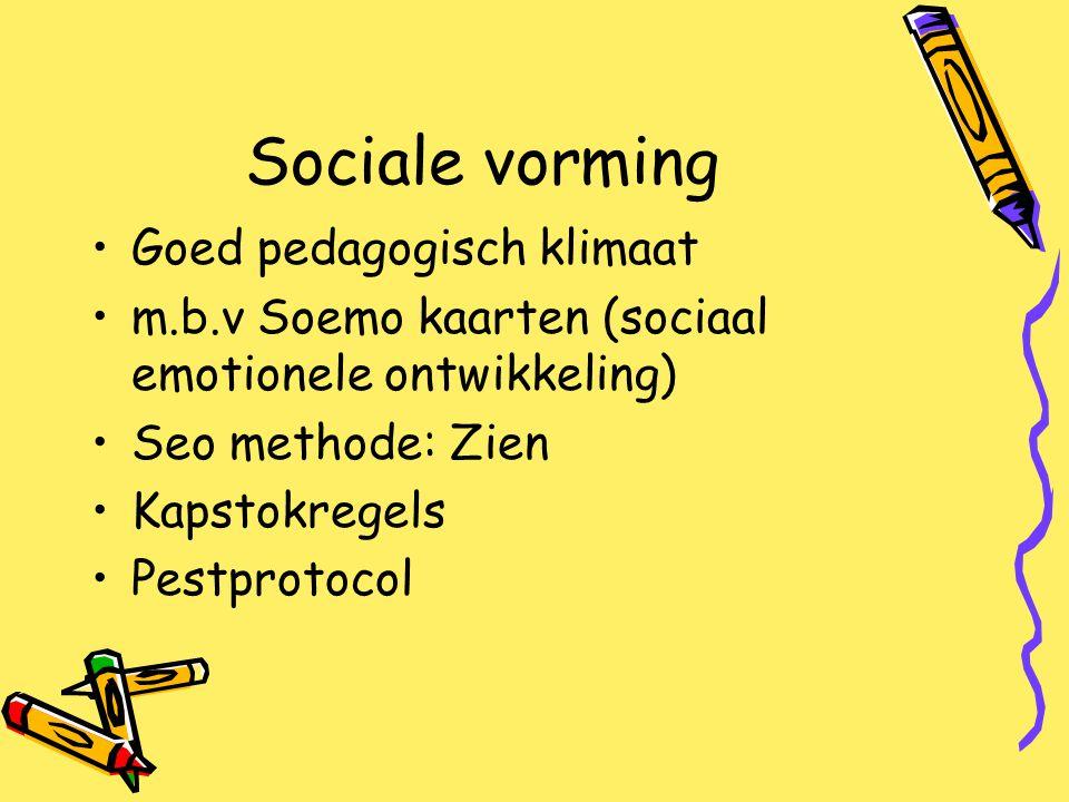 Sociale vorming Goed pedagogisch klimaat