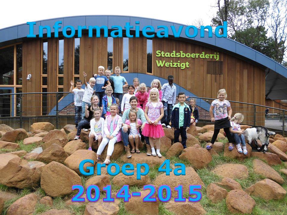 Informatieavond Groep 4a 2014-2015