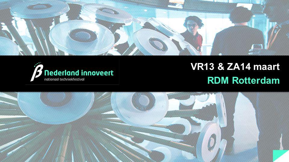 VR13 & ZA14 maart RDM Rotterdam