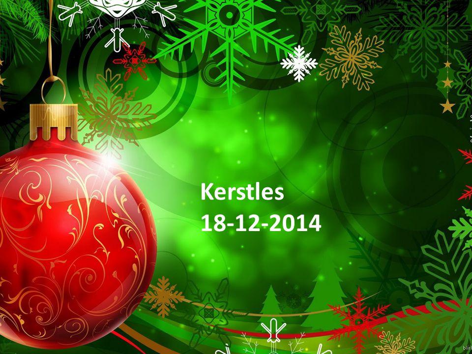 Kerstles 18-12-2014 Kerstles 18-12-2014