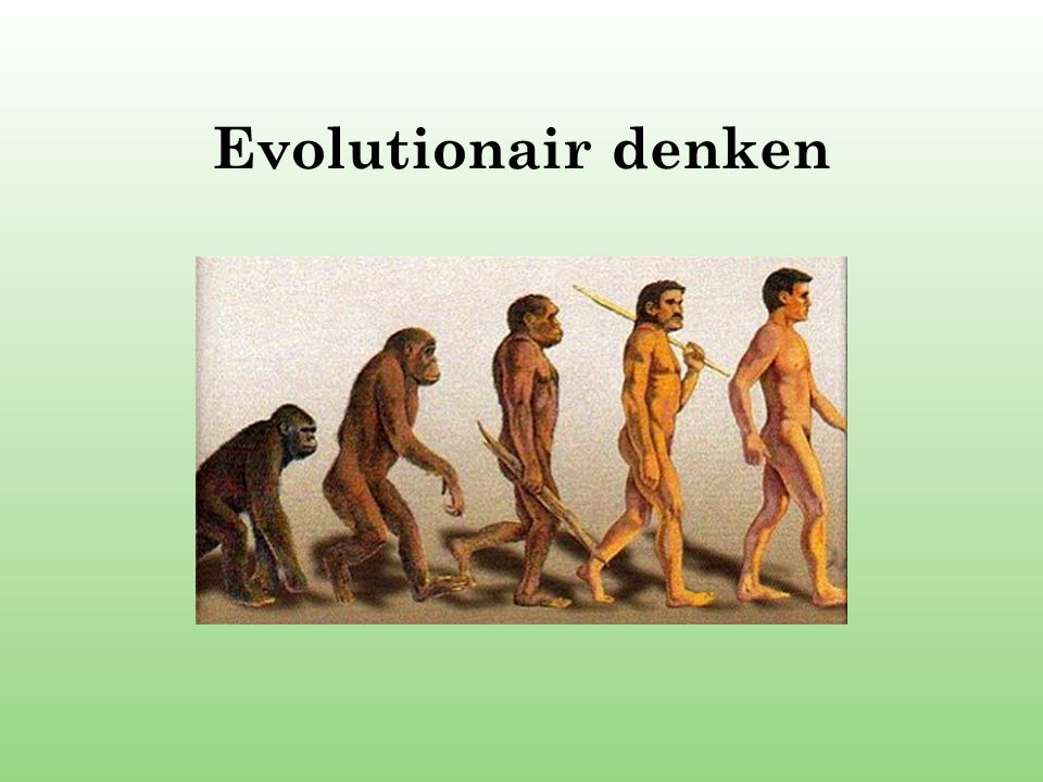 Evolutionair denken