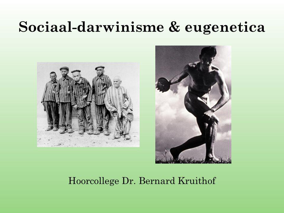 Sociaal-darwinisme & eugenetica