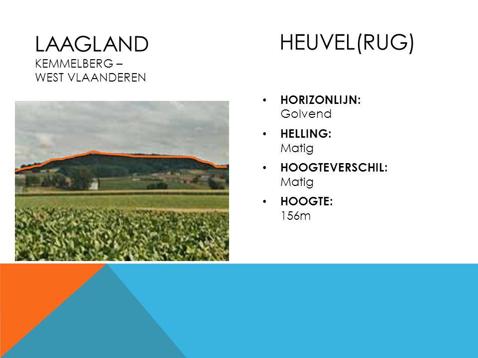 Laagland Kemmelberg – West Vlaanderen