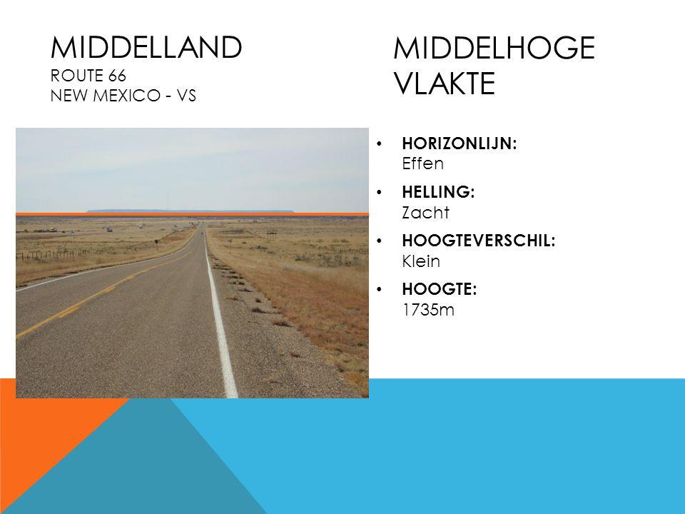 Middelland Route 66 New Mexico - VS