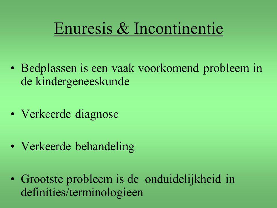 Enuresis & Incontinentie