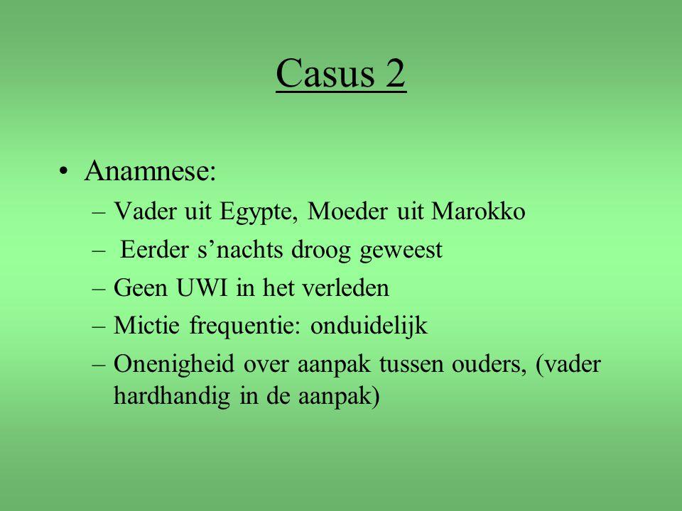 Casus 2 Anamnese: Vader uit Egypte, Moeder uit Marokko