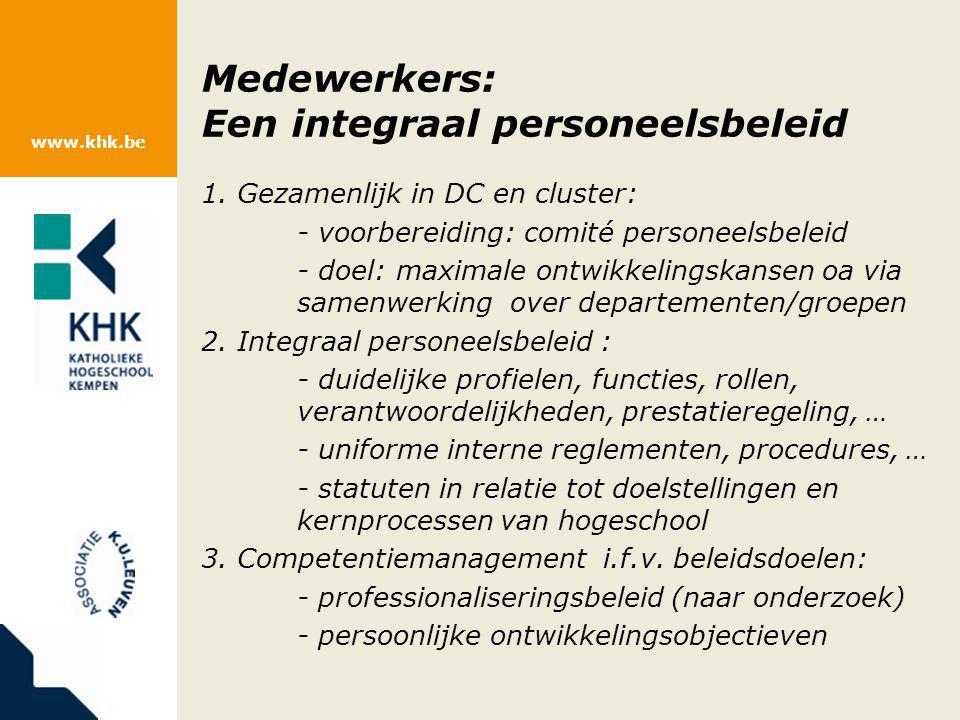 Medewerkers: Een integraal personeelsbeleid