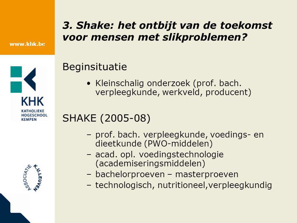 3. Shake: het ontbijt van de toekomst voor mensen met slikproblemen