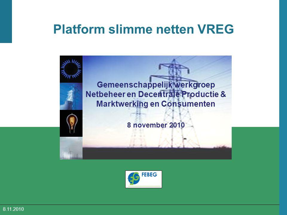 Platform slimme netten VREG