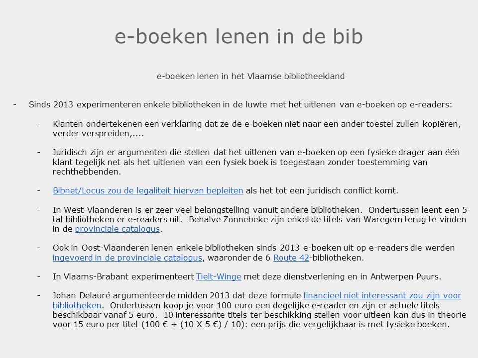 e-boeken lenen in de bib