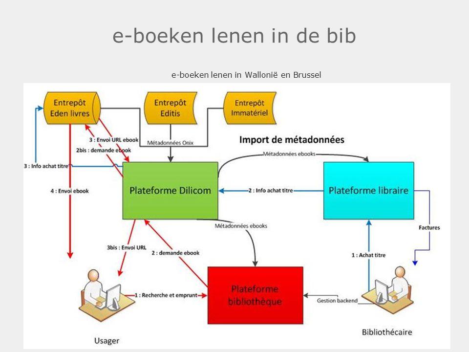 e-boeken lenen in de bib e-boeken lenen in Wallonië en Brussel .