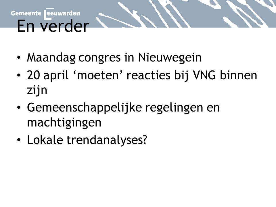 En verder Maandag congres in Nieuwegein