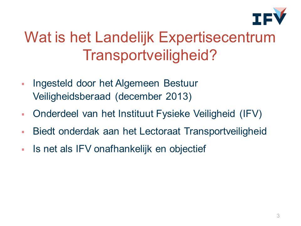 Wat is het Landelijk Expertisecentrum Transportveiligheid