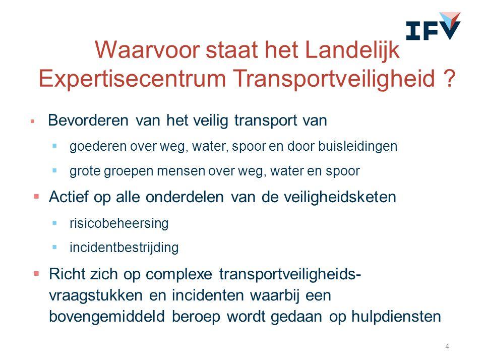 Waarvoor staat het Landelijk Expertisecentrum Transportveiligheid