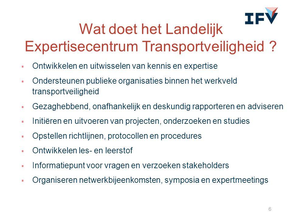Wat doet het Landelijk Expertisecentrum Transportveiligheid