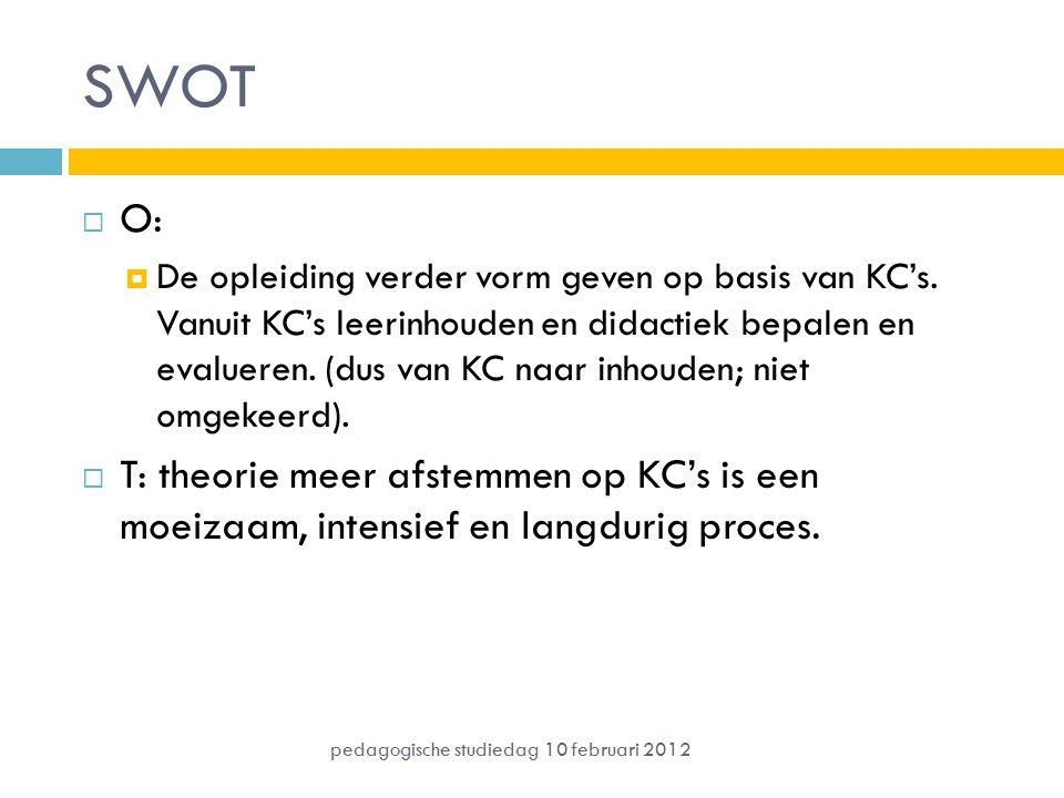 SWOT O:
