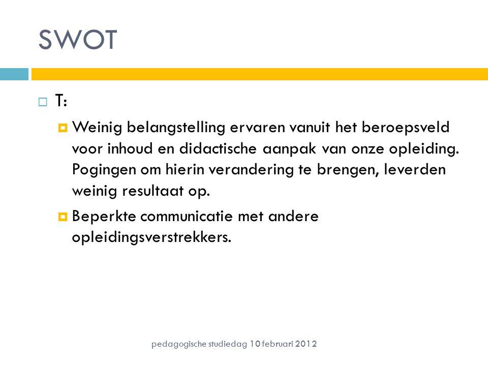 SWOT T: