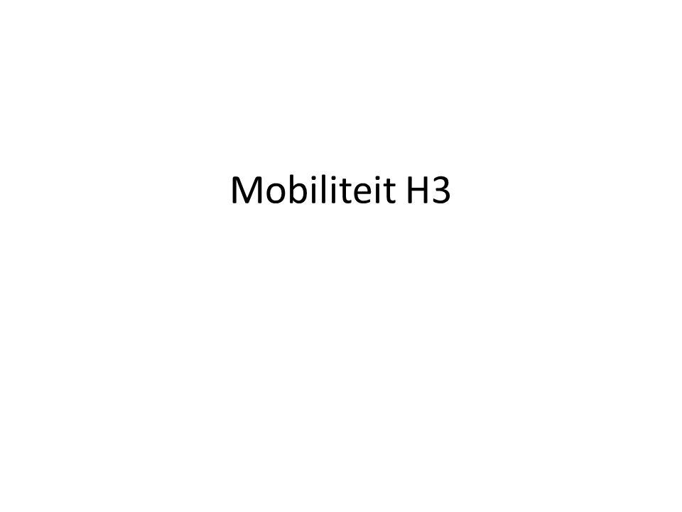 Mobiliteit H3