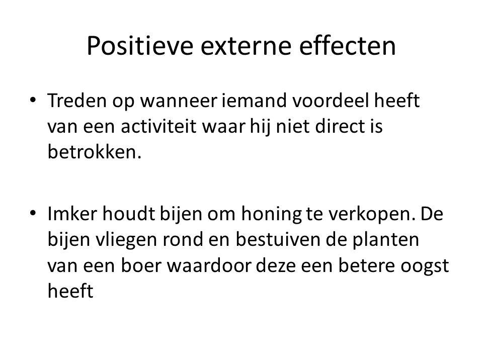 Positieve externe effecten
