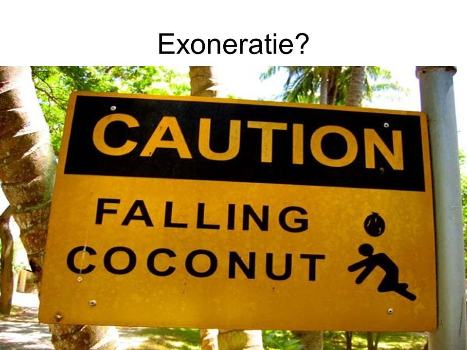 Exoneratie