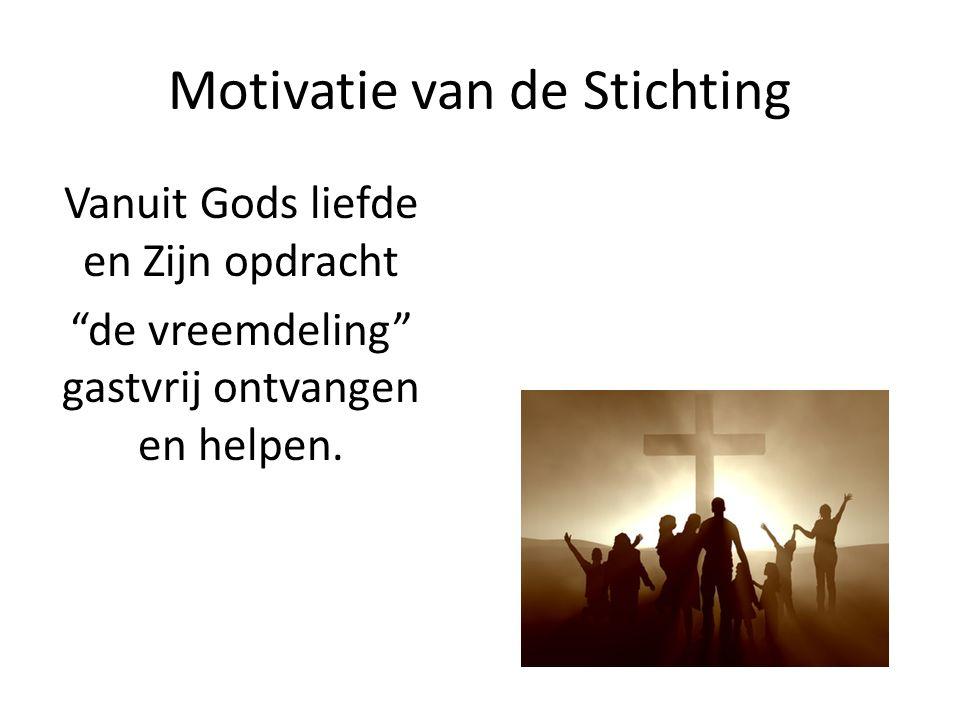 Motivatie van de Stichting