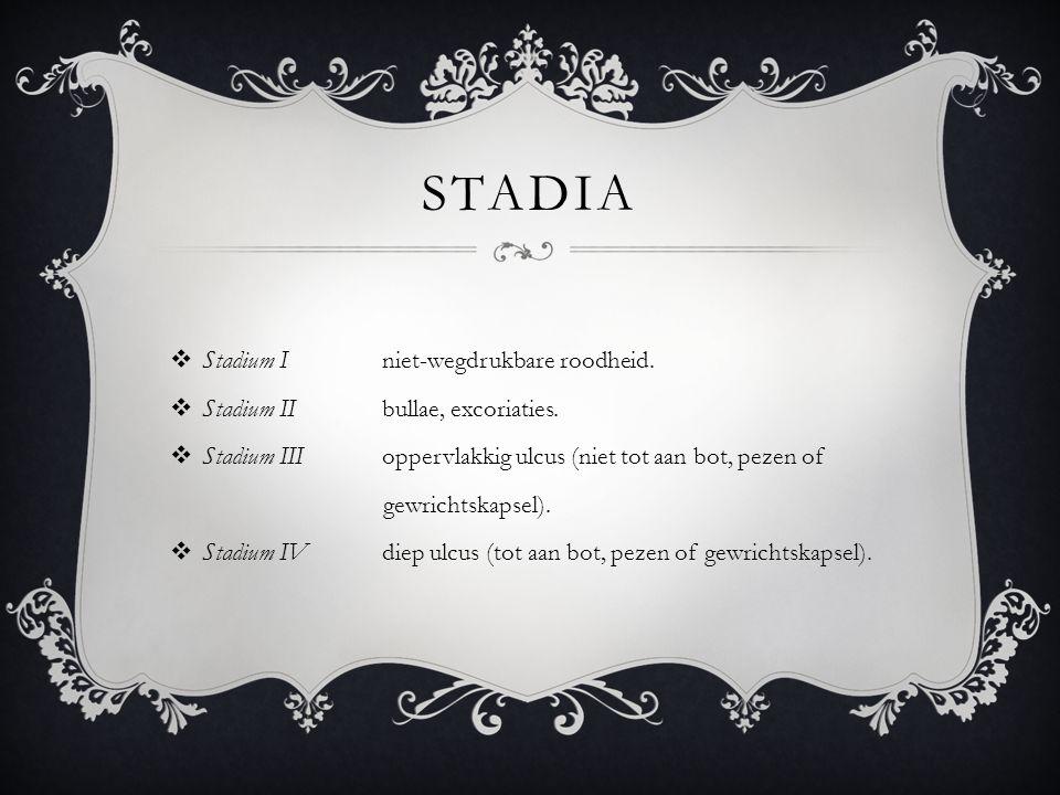 Stadia Stadium I niet-wegdrukbare roodheid.