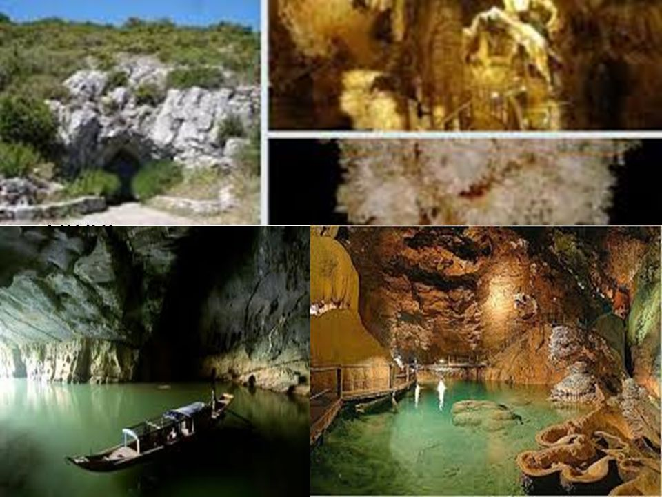 H.3 Toeristische grotten.
