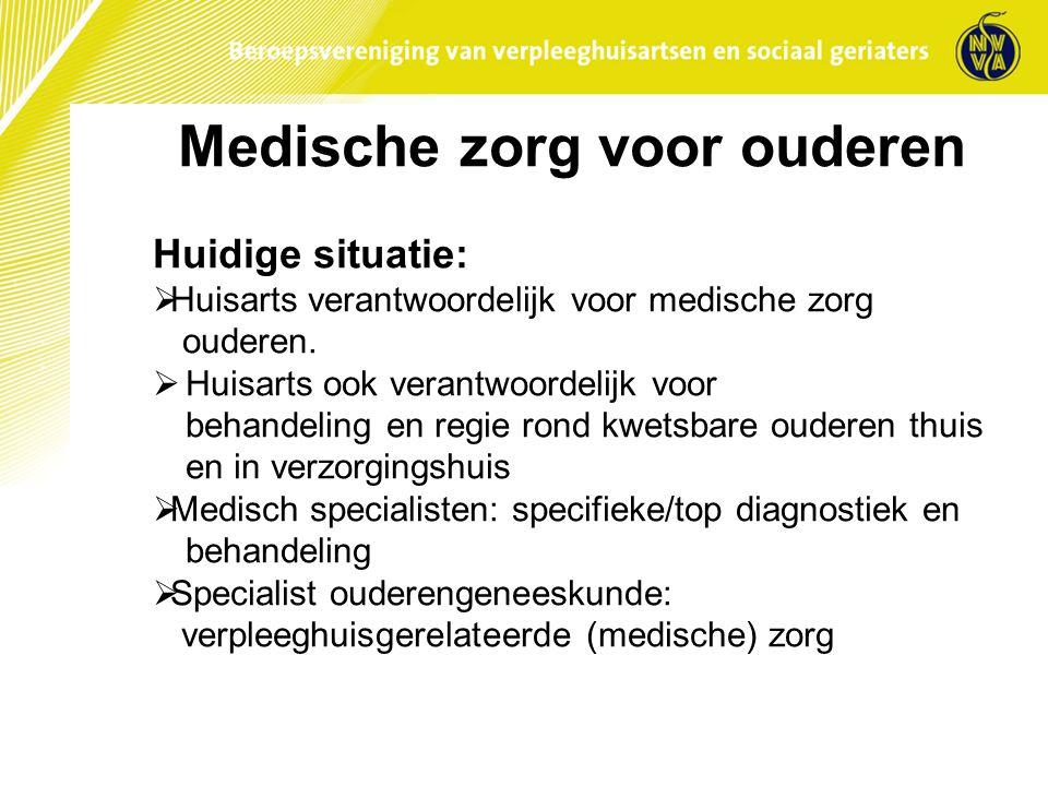 Medische zorg voor ouderen