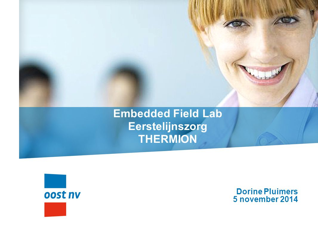 Embedded Field Lab Eerstelijnszorg THERMION
