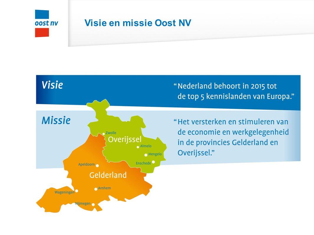 Visie en missie Oost NV