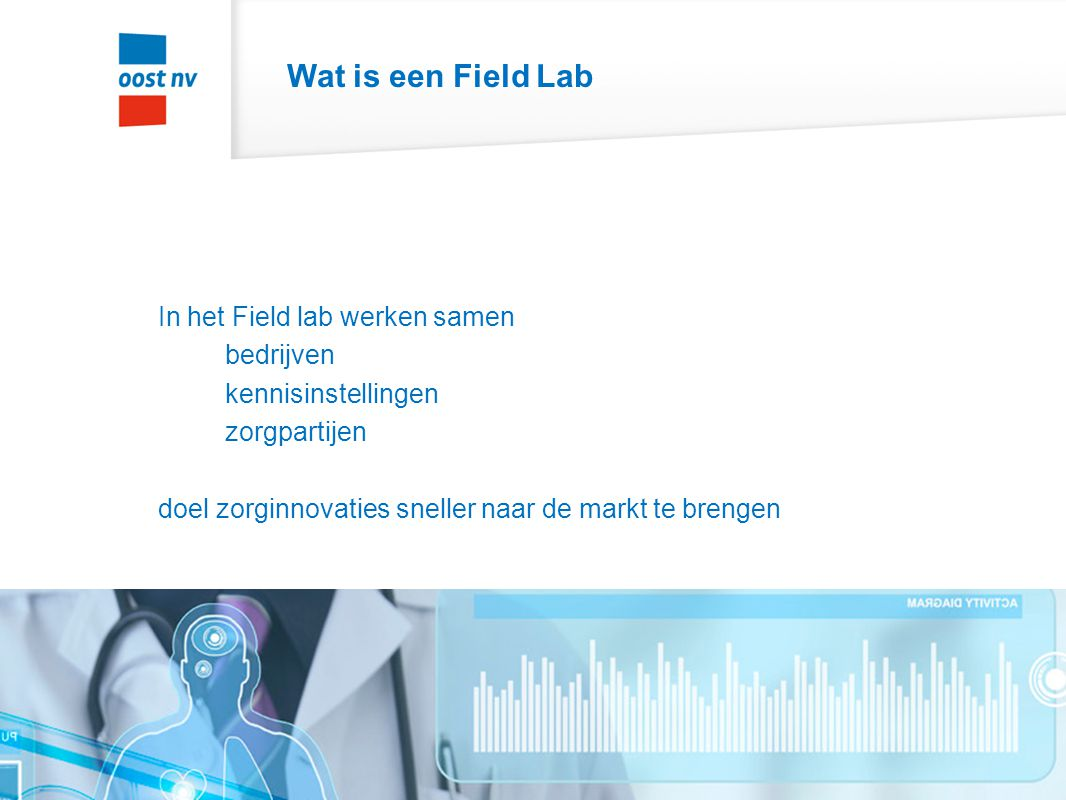 Wat is een Field Lab In het Field lab werken samen bedrijven