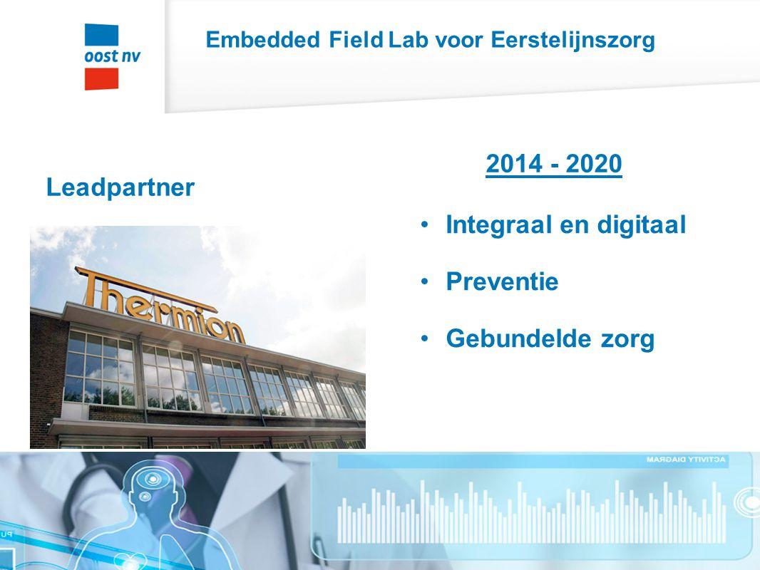 Embedded Field Lab voor Eerstelijnszorg