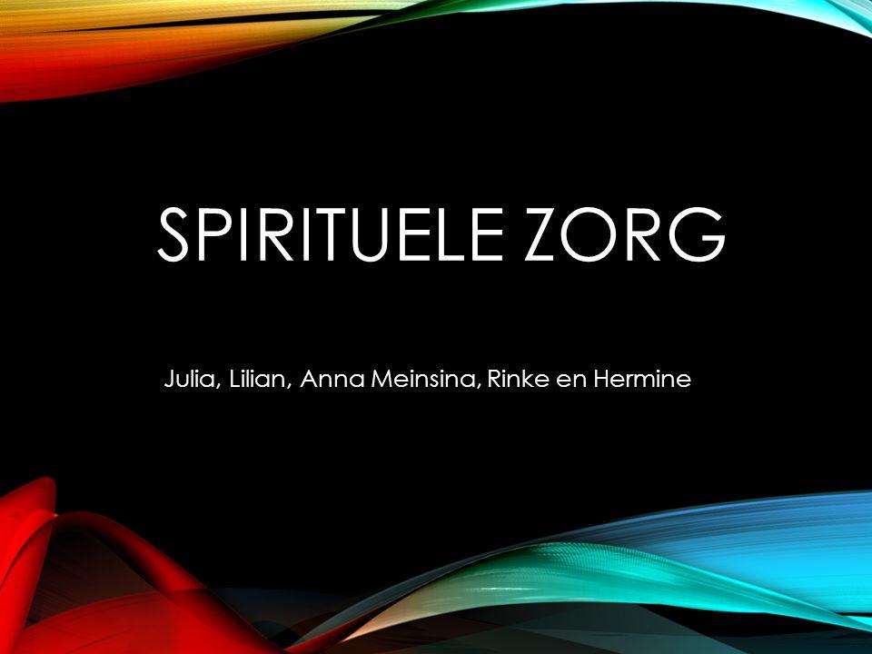 Julia, Lilian, Anna Meinsina, Rinke en Hermine