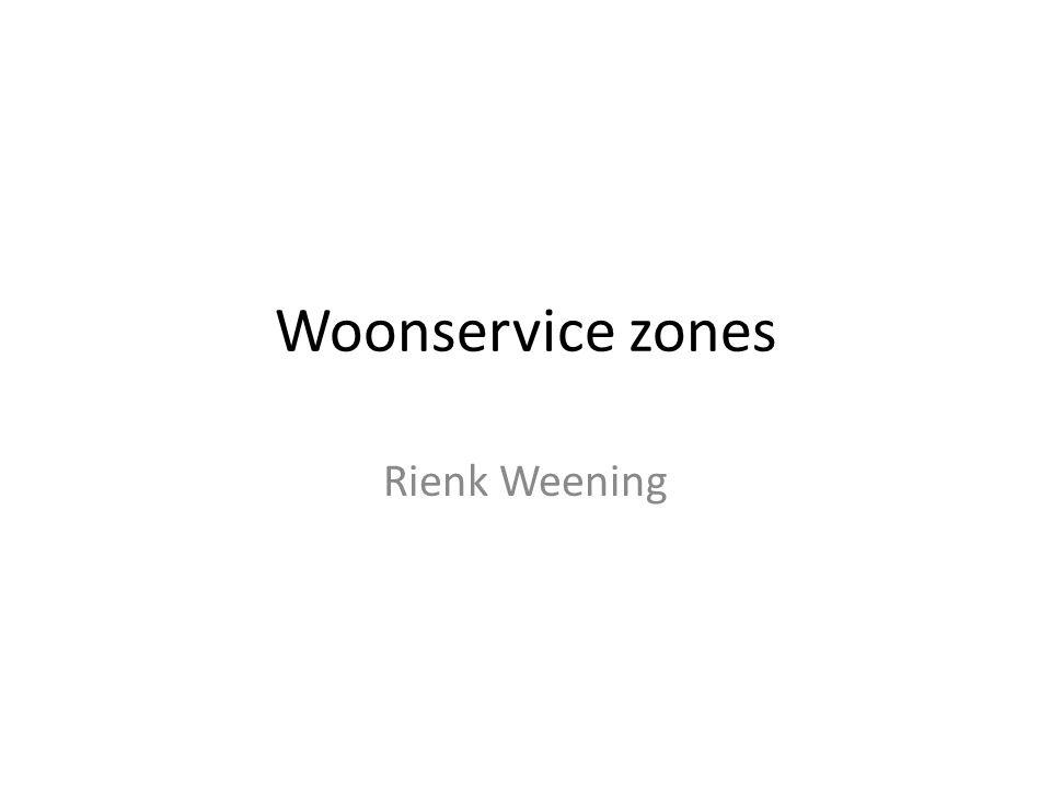 Woonservice zones Rienk Weening