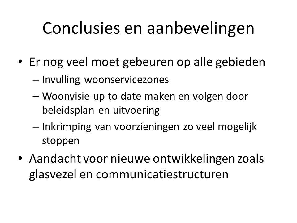 Conclusies en aanbevelingen