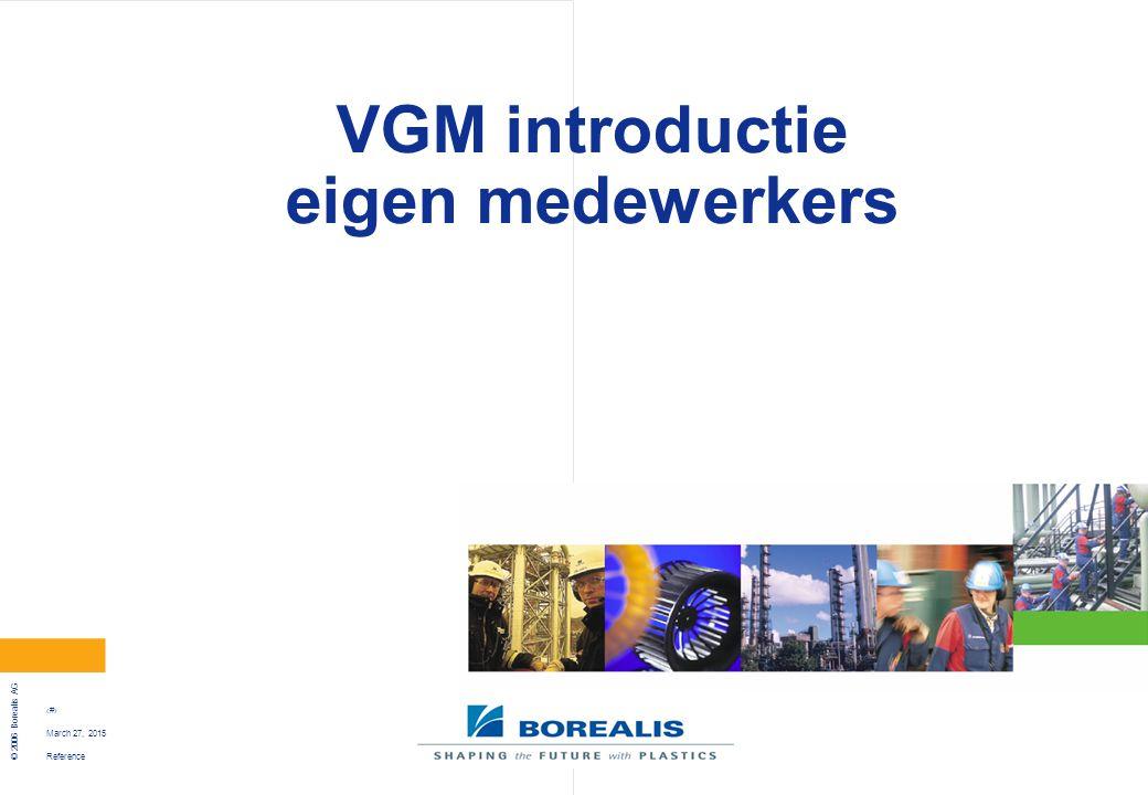 VGM introductie eigen medewerkers