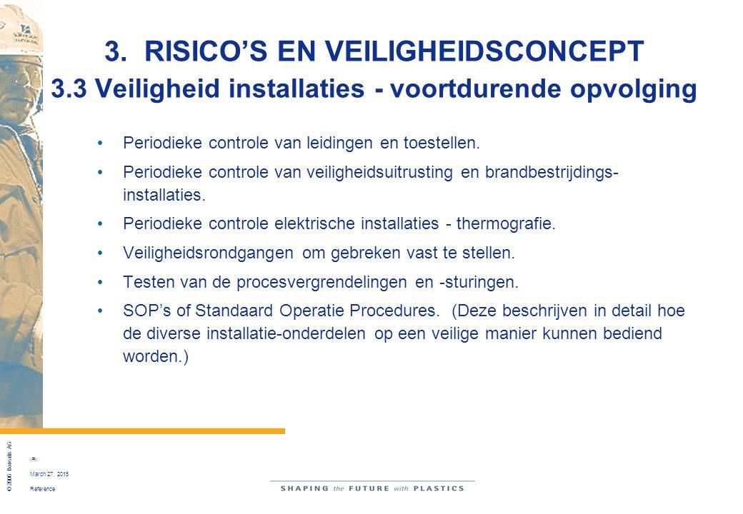 3. RISICO'S EN VEILIGHEIDSCONCEPT 3